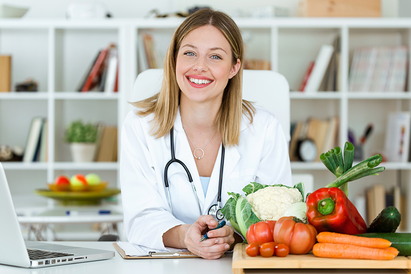 Beautiful Smiling Nutritionist